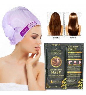 Aliver Steam Hair Mask (1pc) - Natural Repair for Soft and Luxurious Hair