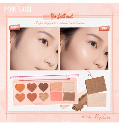 Pinkflash New Arrival Multiple Face Palette Eyeshadow