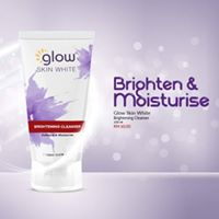 Glow Skin White Brightening Cleanser (150ml) + Free Gift